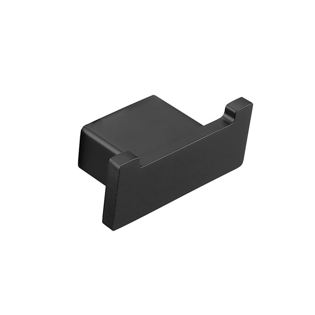 SUS304 Black Hooks for Bathroom Kitchen Hanger Stainless Steel Wall Hook for Keys Coat Towel Hook Robe Hook Bathroom Hardware