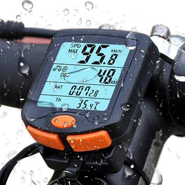 813 Bike Computer / Bicycle Computer Waterproof LED Lights Backlight Road Bike Mountain Bike MTB Cycling