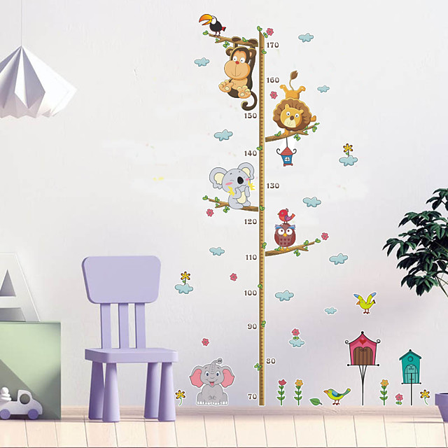 Animals Wall Stickers Plane Wall Stickers Decorative Wall Stickers PVC Home Decoration Wall Decal Wall Window Decoration 1pc