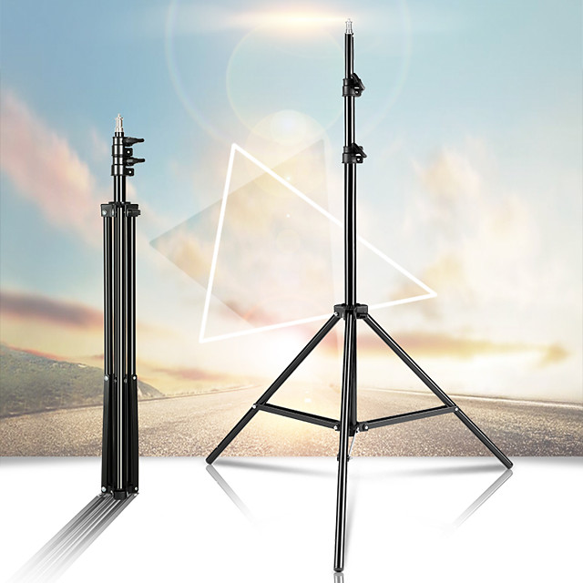 Photography Studio Adjustable 160CM Light Stand Photo Tripod With 1/4 Screw Head For Flash Umbrellas Reflector Lighting