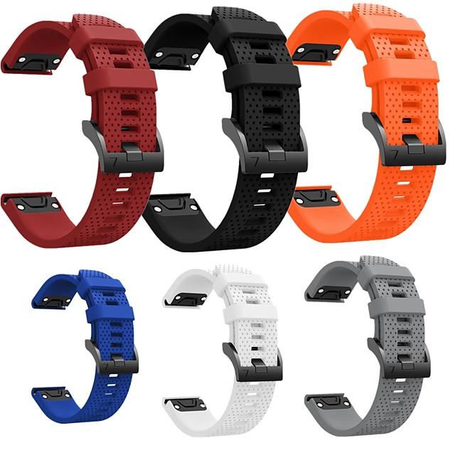 Smartwatch Band for Garmin Fenix 6S 6s Pro 5s 5s plus Sport Band Soft Comfortable Silicone QuickFit Wrist Strap 20mm