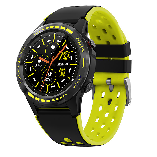 M7 smart watch GPS positioning outdoor weather altitude compass waterproof sports health monitoring Bluetooth call watch
