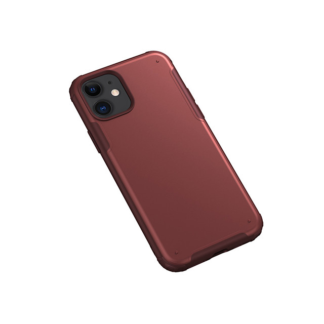 Case For Apple iPhone 7/8/7P/8P/X/XS/XR/XS Max/11/11 Pro/11 Pro Max/SE 2020 Shockproof / Frosted Back Cover Solid Colored TPU / Plastic