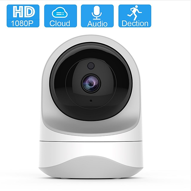 1080P HD Wireless Baby Monitor Camera Security Camera for Home WiFi Pet Camera for Dog and Cat 2 Way Audio Night Vision