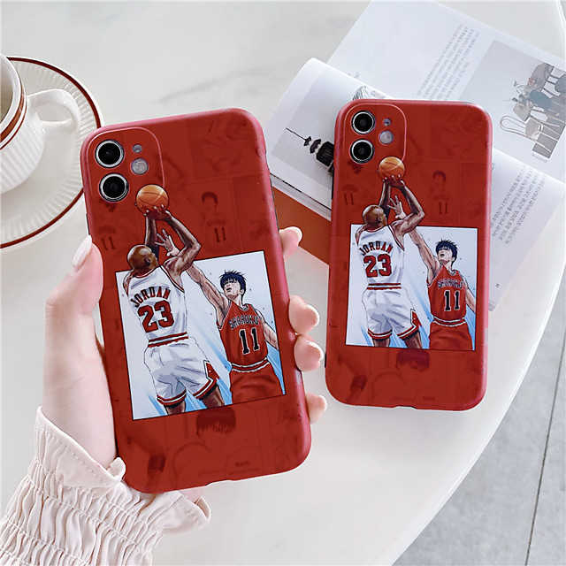 Cool Japan Sport Slam dunk Basketball Soft Silicon IMD Case Cover For iphone X XS MAX XR se 2020 11Pro max For iphone 7 8Plus 11Pro Funda Coque Cases