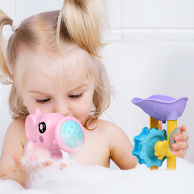 New Hot Summer Children Swimming Beach Toys Bathroom Shower Set Of Parent-child Interaction Pattern Water Toys 9 Pcs