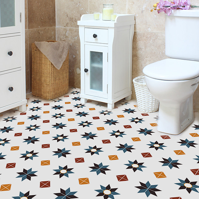 floor tile waterproof and antiskid floor household wear-resistant self-adhesive wall PVC thickening
