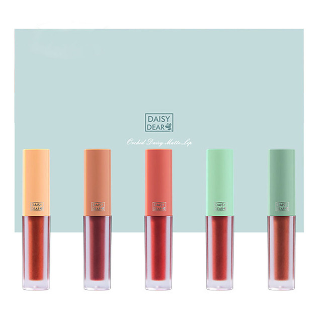 Lip Gloss Wet Large Capacity Long Lasting Gift Daily Wear Valentine's Day Office & Career / Matte
