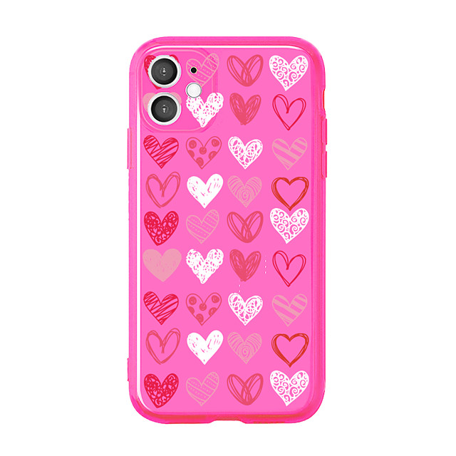 Case For Apple iPhone 11 / iPhone 11 Pro / iPhone 11 Pro Max Shockproof Back Cover Heart TPU