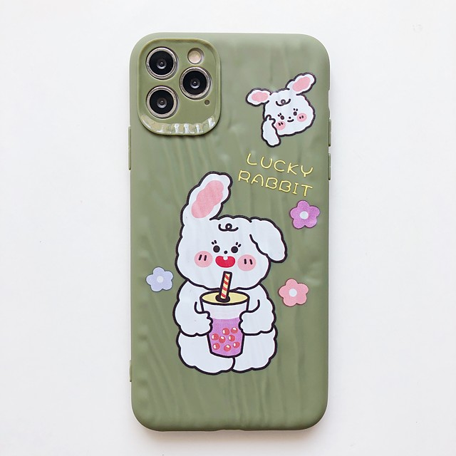 Case For Apple Shockproof / Pattern Full Body Cases Cartoon TPU