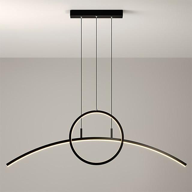 Max 30W 90 cm Single Design Pendant Light Metal Modern Style Painted Finishes LED / Modern 110-120V / 220-240V