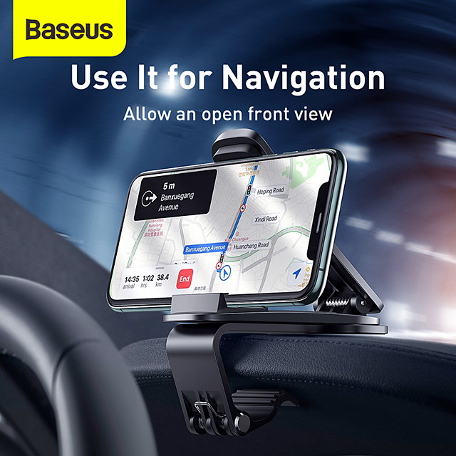 Baseus Car Phone Holder is Suitable For the Center Console For 6.5inch Mobile Phones