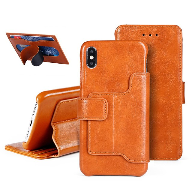 PU Leather case for iPhone 11 Luxury PU Leather Wallet Case For Apple iPhone 11 Pro iPhone 11 Pro Max iPhone XR Shockproof Case with Stand Back Cover Card Holder