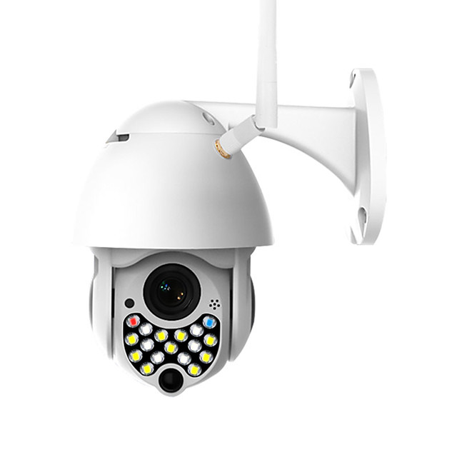 CP05-17 2 mp Full-color Night Vision IP Camera Outdoor IP65 Waterproof Two Way Audio Security Camera Motion Detection Home Camera Support 128 GB