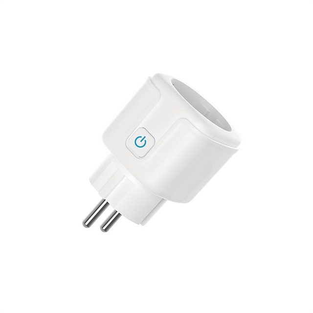 Smart Plug EU WiFi Socket 16A Timing APP Control for iOS Android Phone Works With Alexa Google Home Mini Voice Control