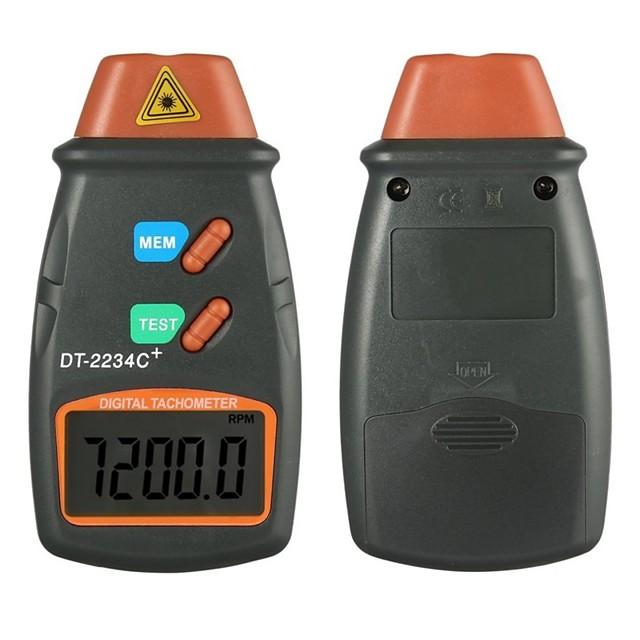 Digital Laser Photo Tachometer Non Contact RPM Tach Digital Laser Tachometer Speedometer Speed Gauge Engine Dropship