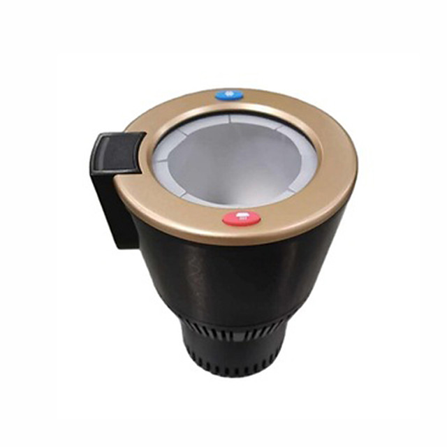 12V black smart car hot and cold universal cup / fast heating and cooling / simple operation / low working noise