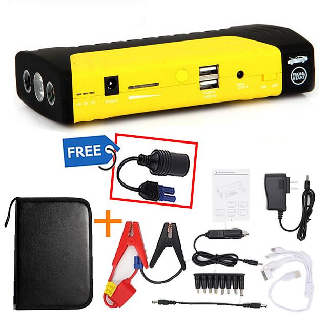 High quality gasoline and diesel 12V car external battery mini car starter mobile phone charger