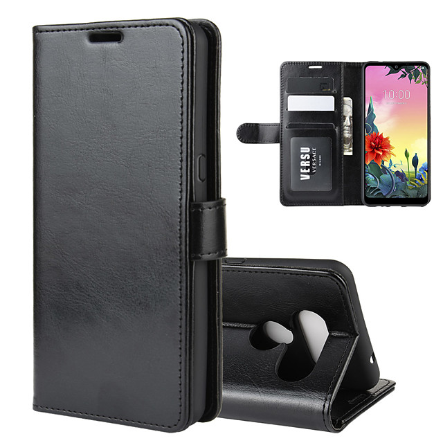 For LG K50S Texture Single Fold Horizontal Flip Leather Case with Holder & Card Slots & Wallet