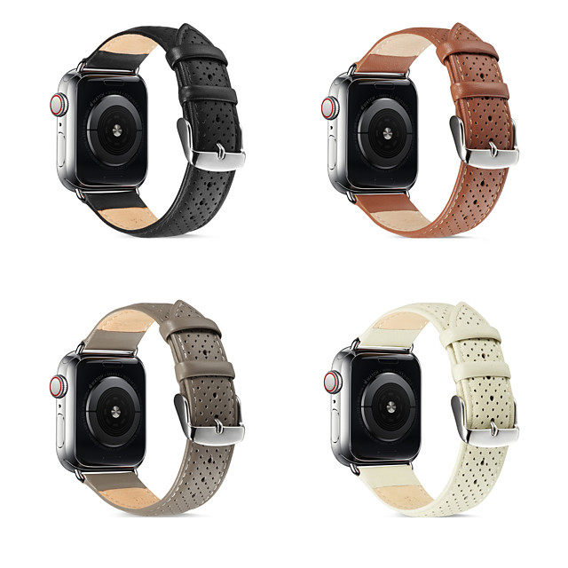 Watch Band for Apple Watch Series 4 / Apple Watch Series 4/3/2/1 / Apple Watch Series 3 Apple Business Band Genuine Leather Wrist Strap