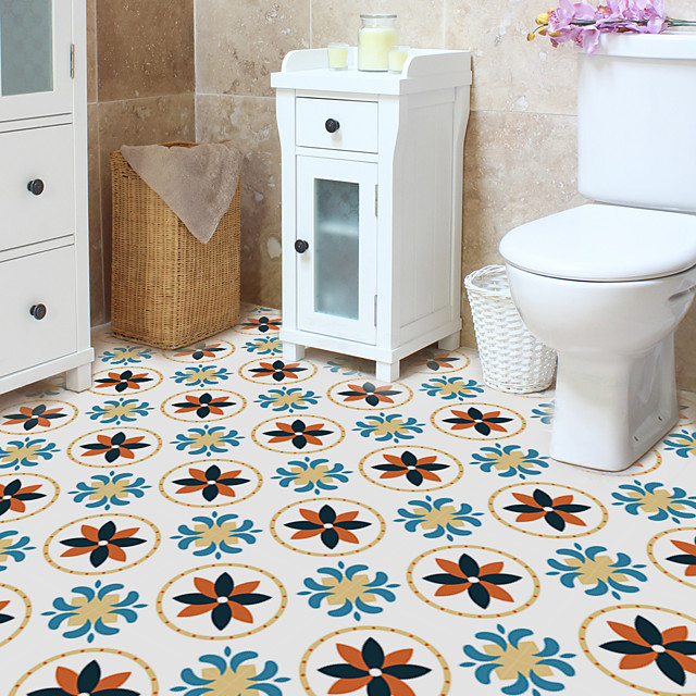 color flooring pasted with waterproof and wear-resistant tiles pasted with household self-adhesive wall pasted with color floor tiles