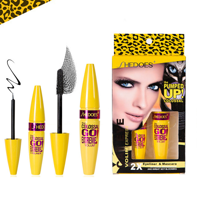 Eyeliner Waterproof / Portable / Special Design Makeup Mixed Material Stick Cosmetic / Mascara / Eyeliner Trendy / Fashion Congratulations / Thank You / Gift Daily Makeup / Halloween Makeup / Party