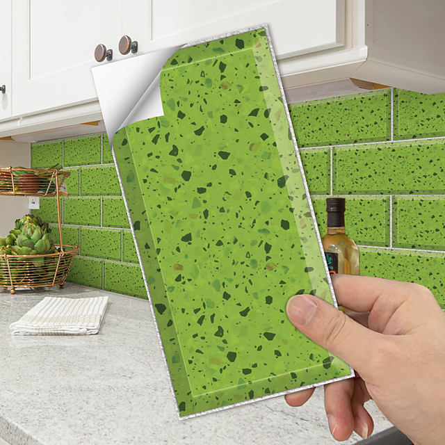 simulation crystal tile paste environmental protection floor paste kitchen and bathroom oil-proof waterproof