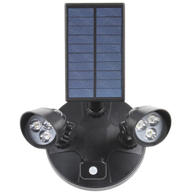 Outdoor Projection Lamp Outdoor Lights Courtyard Wall Hanging Lamp Double - End Integrated Street LED Solar Body Sensor Lamp