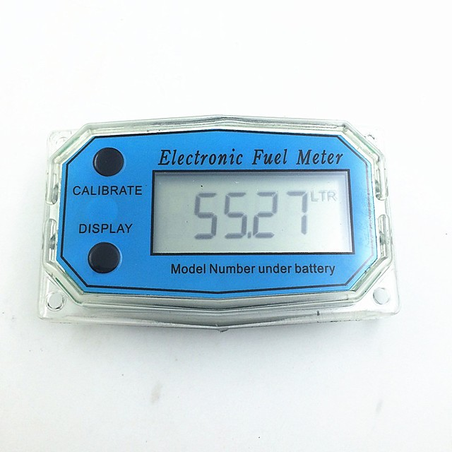 Digital Turbine Flow Meter Flowmeter Gauge Caudalimetro Electronic Flow Indicator Sensor Counter Petrol Fuel Plomeria Water DN25