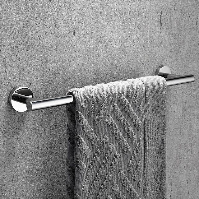Towel Bar / Bathroom Shelf New Design / Adorable / Creative Contemporary / Modern Stainless Steel / Stainless Steel / Iron / Metal 1pc - Bathroom 1-Towel Bar Wall Mounted