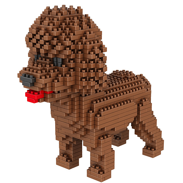 Building Blocks 950+ Dog compatible Molded ABS Legoing DIY Animal Design Boys and Girls Toy Gift