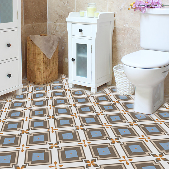 tile paste color series floor paste waterproof and wear-resistant wall paste household self-adhesive paste PVC thickened