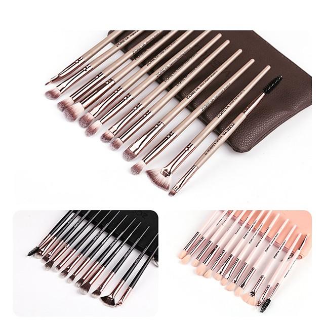 Professional Makeup Brushes 12pcs Soft Plastic for Foundation Brush Eyeshadow Brush Makeup Brush Set