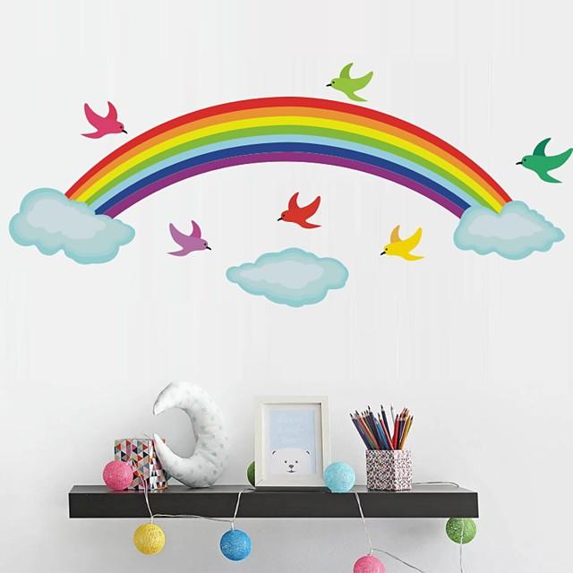 Rainbow Decorative Wall Stickers Kids Room