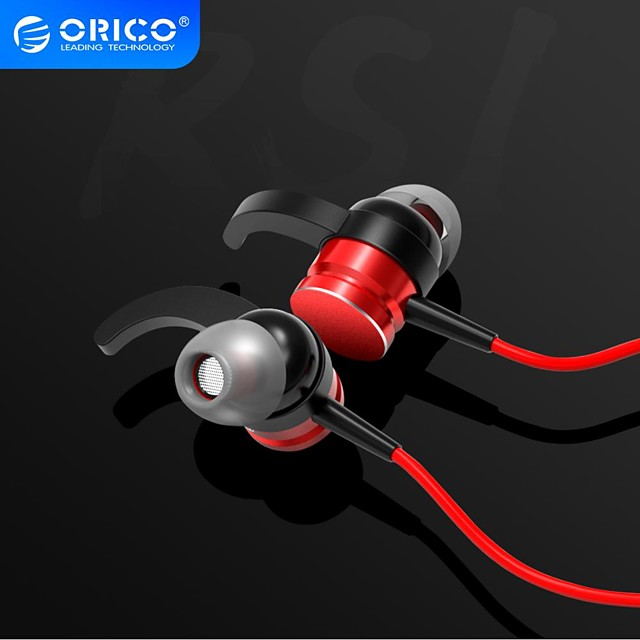 ORICO Arc-shape Hooks In-ear Earphones Music Stereo Earbuds Sporting Gaming Earphone With Microphone For Smart Phone