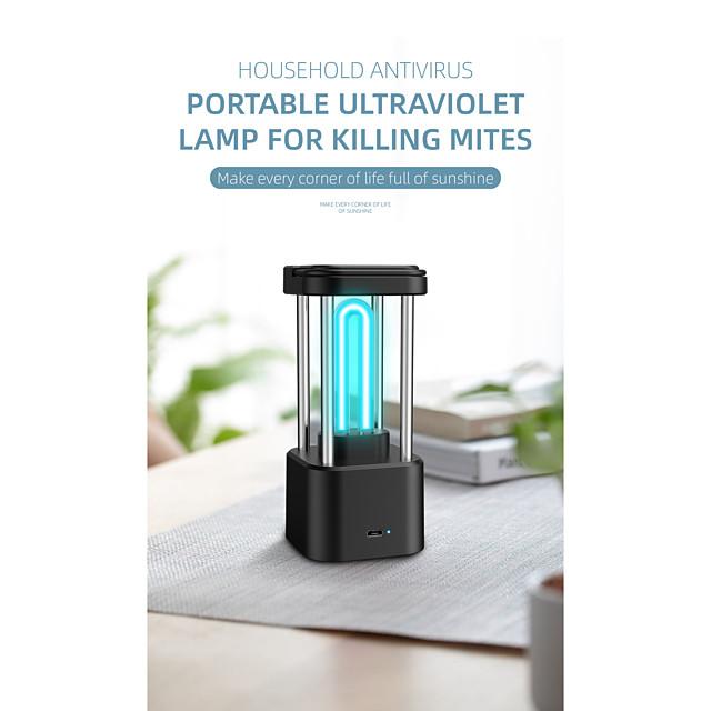 UV Disinfection Lamp Portable household dormitory car-borne UV kindergarten indoor mobile small mite disinfecting lamp