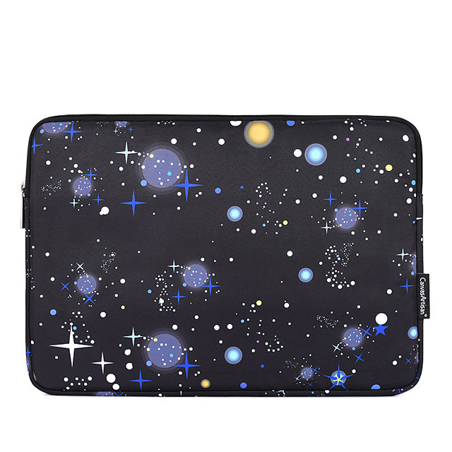 11.6 12 13.3 14 15.6 Inch Laptop Sleeve Polyester Cartoon Stars for Business Office for Colleages Schools for Travel Waterpoof Shock Proof