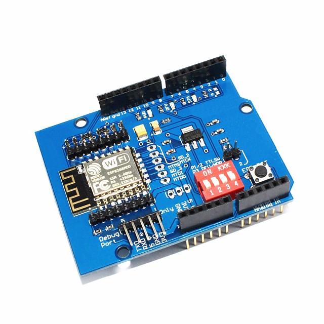 UNO R3/ ESP8266/ Serial WiFi Expansion Board/shiled ESP-12E Development Board/Extension