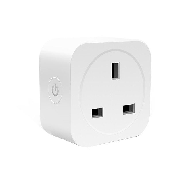 UK Plug 16A smart Wireless plug   Smart Power Socket Remote Control Socket WiFi Smart Plug with Google Home