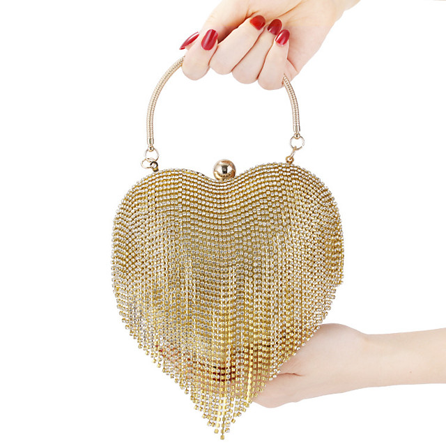 Clutch Bag Retro Vintage 1920s Alloy For The Great Gatsby Cosplay Carnival Valentine's Day Women's Costume Jewelry Fashion Jewelry / Punching Bag