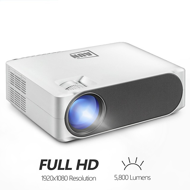 LITBest AKEY6 LED Projector 5800 lm Android Support