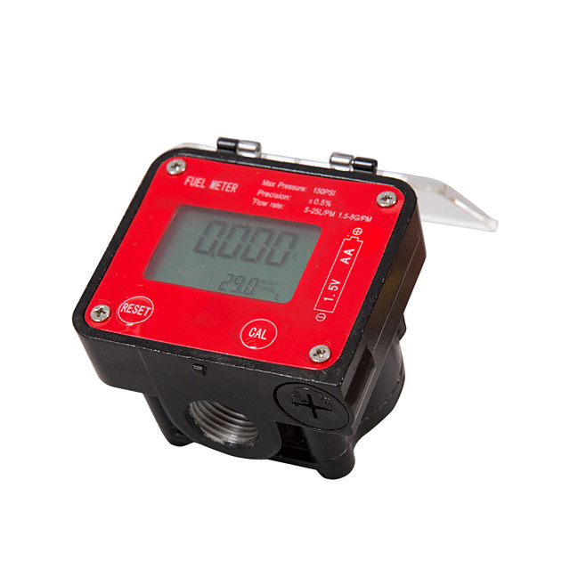 Digital Oval Gear Diesel Flow Meter Sensor Counter Indicator Flowmeter Viscous liquidheavy oilpolyvinyl alcoholresins G1/2