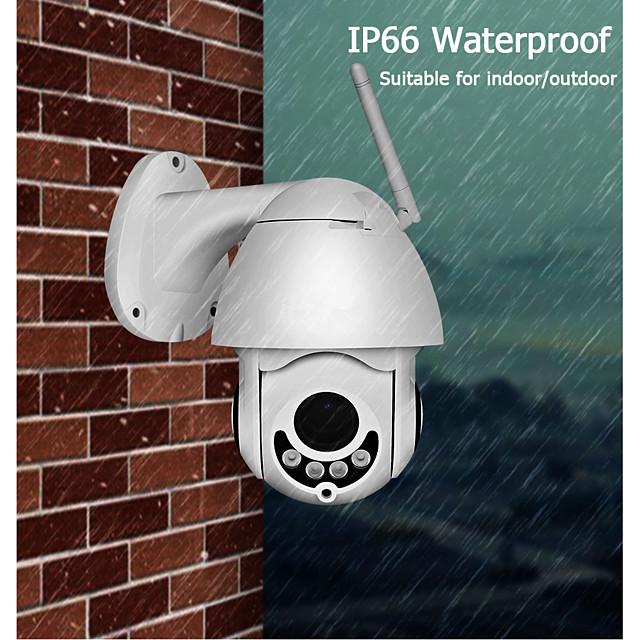 Hiseeu 1080P WIFI IP Camera PTZ 5X Optical Zoom Speed Dome ONVIF CCTV Outdoor Waterproof 2MP Two Way Audio Camera iCsee