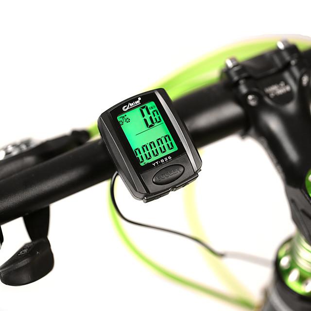 826 Fietscomputer waterdicht LED verlichting achtergrondverlichting Racefiets Mountainbike Vouwfiets Wielrennen