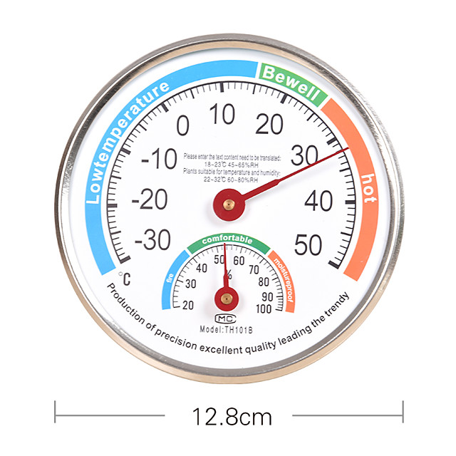 TH101B Thermometer and Hygrometer for Indoor Use Temperature Humidity Tester Meter