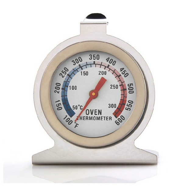 Kitchen Oven Thermometers Stainless Steel Food Meat Dial Thermometer Temperature Gauge Household Supplies BBQ Thermometer Baking Tools