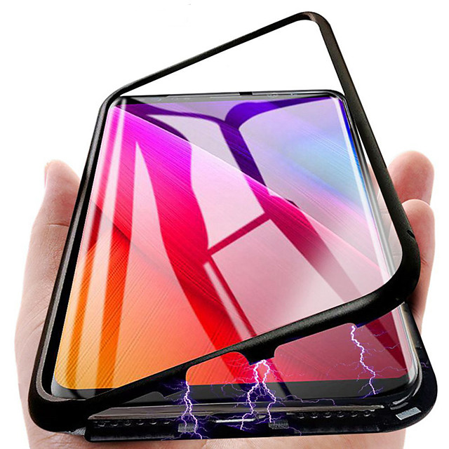 Case For Samsung Galaxy S9 / S8 Plus / Note 9 Shockproof / Pattern Full Body Cases Tile / Scenery PU Leather / TPU