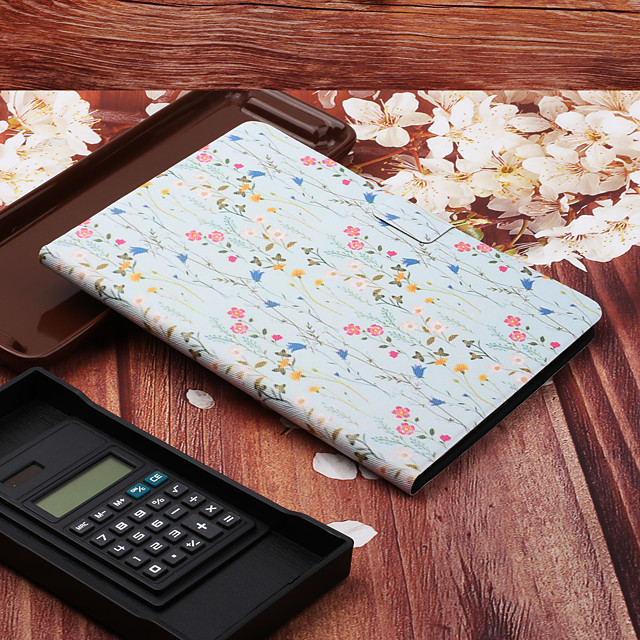 custodia per apple ipad pro 11 '' 2020 ipad mini 5 ipad mini 4 con supporto flip pattern custodie full body pelle fiore cuoio per ipad 5 ipad 6 ipad 2018 ipad 2017 ipad pro 11 '' ipad pro 10.5 ipad