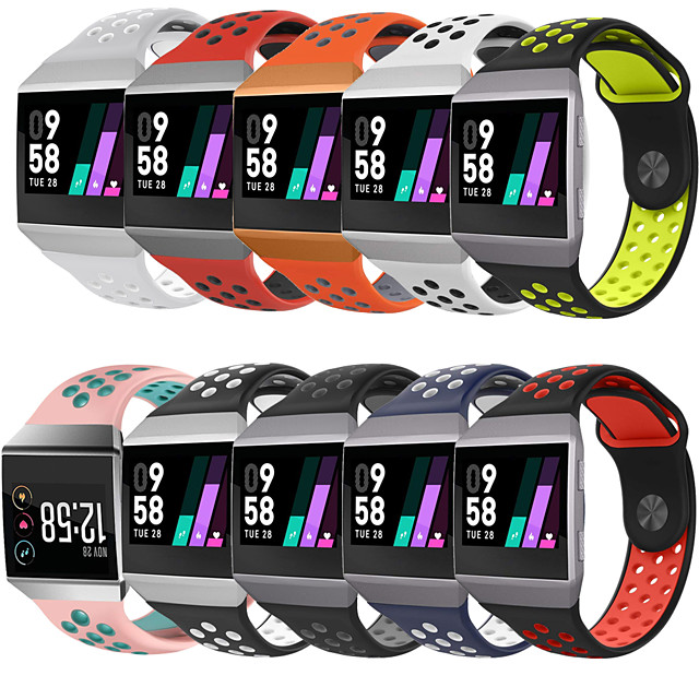 Watch Band for Fitbit ionic Fitbit Sport Band Silicone Wrist Strap