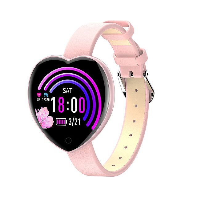 CARKIRA T52 Women Smartwatch Android iOS Bluetooth Waterproof Touch Screen Heart Rate Monitor Blood Pressure Measurement Sports Pedometer Call Reminder Activity Tracker Sleep Tracker Sedentary